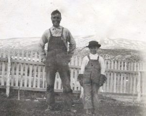 1917 - Alfred and Archie Toyn