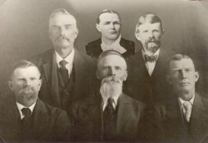 Albert Francis Richins. William Richins, Lorenzo Richins, Emma Richins Paskett, George Henry Richins & Arthur Joseph Richins