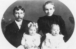 Joseph, Elizabeth, Mildred, & Alice Barlow