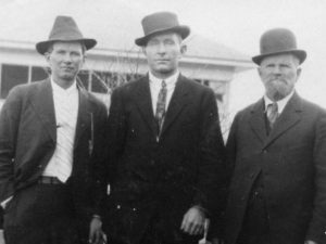 Wilford Richins, Willard Hales and Albert Richins